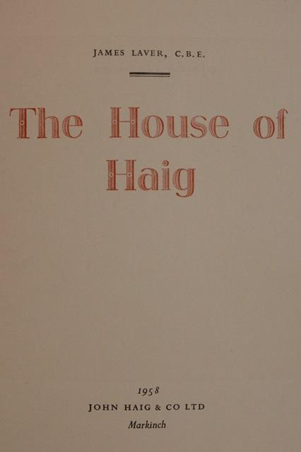 James Wash The House Of Haig