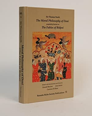 The Moral Philosophy of Doni. Popularly Known as the Fables of Bidpai. (a Collection of Sanskrit,...