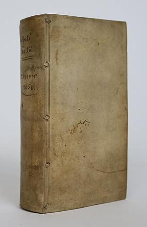 Noctes Atticae: Editio nova et prioribus omnibus: Gellius, Aulus [125