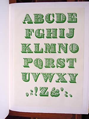 Ornamented Types. 'Twenty-Three Alphabets from the Foundry of Louis John Pouchee', ...