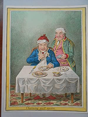 Gentle Emetic. WITH: Charming Well Again.: GILLRAY, James]