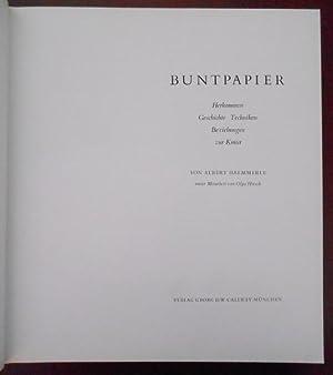 Buntpapier.: Haemmerle, Albert