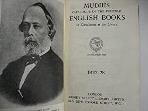 Catalogue of the principal English books in circulation at Library: Mudie's select library