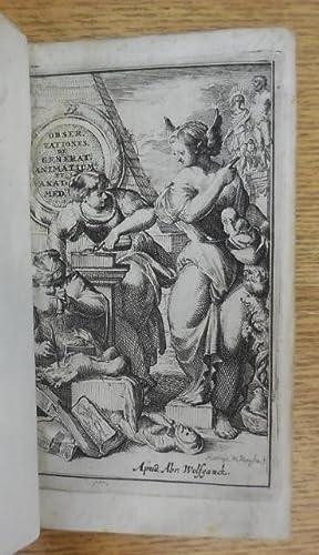 """Observationes et historiæ omnes & singulæ é Guiljelmi Harvei libello """"..."""