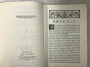 Histoire et recherches des antiquités de la ville de Paris.: Sauval, H.