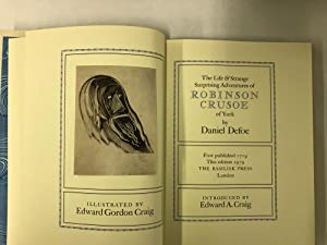 The Life & Strange Surprising Adventures of Robinson Cruesoe of York.: Defoe, Daniel