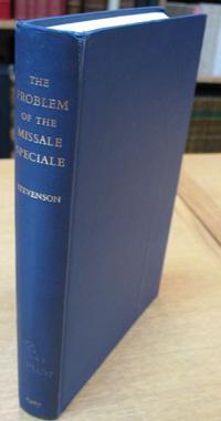 The Problem of the Missale Speciale.: Stevenson, Allan