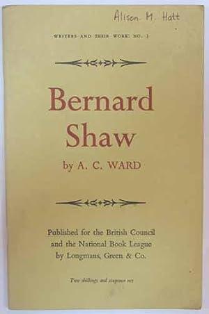 Bernard Shaw.: Shaw, Bernard] Ward,