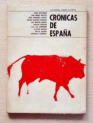 CRÓNICAS DE ESPAÑA: FERNANDEZ SANTOS, Jesús