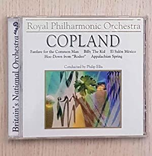 COPLAND. Fanfare for the Common Man. Billy The Kid. El Salón México. Hoe-Down from