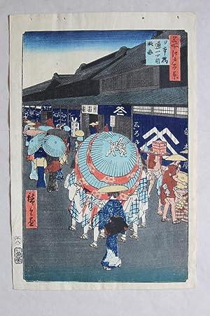 ando hiroshige 1797 bis 1858 nihonbashi 100: ando hiroshige 1797