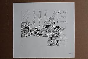 Deux ailes Lithografie nummeriert 29/75 stempelsignatur: Zoltán Kemény (2.