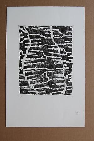 Section d'une vision Lithografie 20/75 stempelsigniert: Zoltán Kemény (*2.