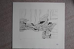 Deux ailes Lithografie nummeriert 31/75 stempelsignatur,: Zoltán Kemény