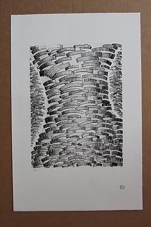 Unité dynamique , Lithografie mit Stempelsignatur nummeriert: Zoltan Kemeny 1907