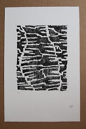 Section d'une vision Lithografie, Stempelsignatur, nummeriert 29/75: Zoltan Kemeny