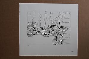 Deux ailes Lithografie, Stempelsignatur, nummeriert 24/75: Zoltan Kemeny 1907