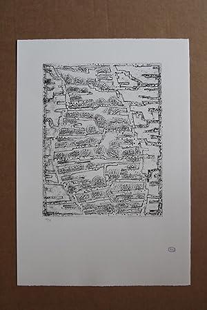 Coupe monnaie, Lithografie, Stempelsignatur, nummeriert 19/75: Zoltan Kemeny 1907