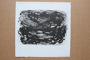 Die Dämmerung, Lithographie, handsigniert , mittig bezeichnet,: Osmar Osten 1959