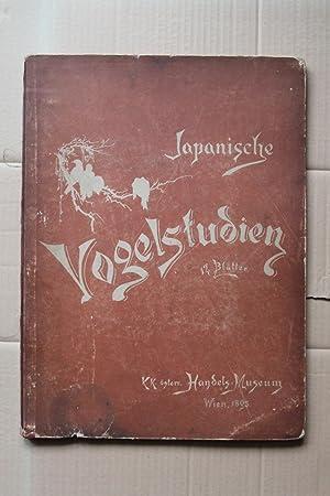 japanische vogelstudien 12 blätter k.k. österr. handels-musem: k.k. österreichisches handels-musem