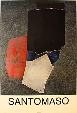 Giuseppe Santomaso abstrakte komposition Farboffsetlithografie: Giuseppe Santomaso