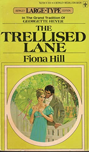 The Trellised Lane (Large Type Edition)