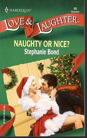 NAUGHTY OR NICE: Bond, Stephanie