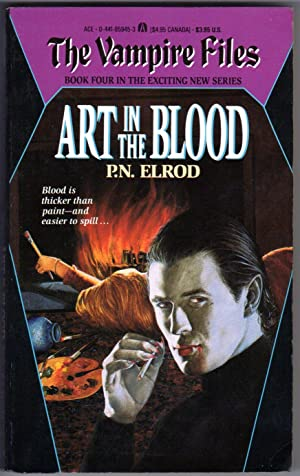 Art in the Blood (Book 4 in The Vampire Files)