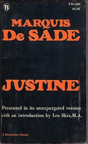 JUSTINE or Misfortunes of Virtue: De Sade, Marquis