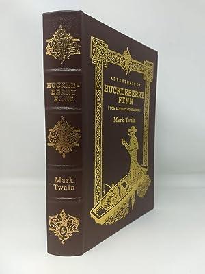 ADVENTURES OF HUCKLEBERRY FINN [TOM SAWYER'S COMPANION]: Twain, Mark ;