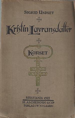 Kristin Lavransdatter (norwegian): Undset Sigrid