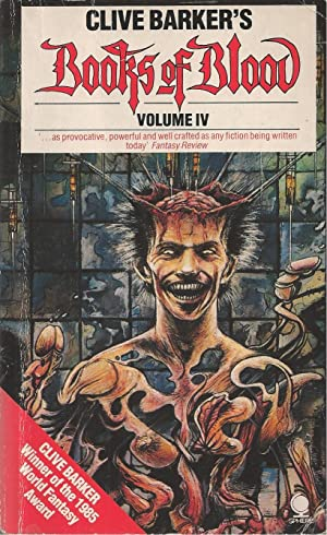 Books of Blood Volume 4 A K a the Inhuman Condition