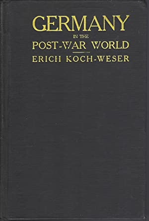 Germany In The Post-war World ** Signed**