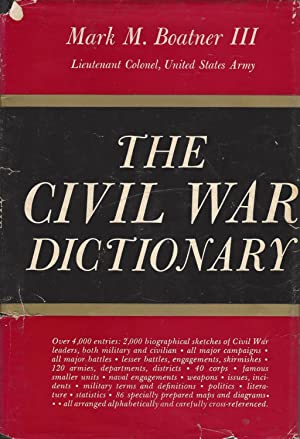 Civil War Dictionary, The