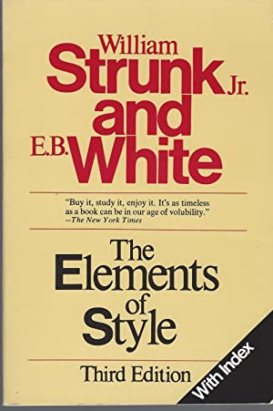 Elements Of Style With Index, The