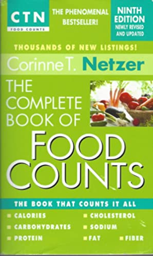 Complete Book Of Food Counts, 9th Edition The Book That Counts It All