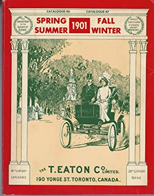 The 1901 Editions Of The T. Eaton Co. Limited Catalogues For Spring & Summer / Fall & Winter. Cat...