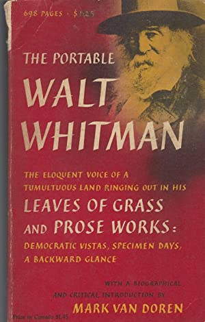 Portable Walt Whitman: Whitman Walt, Mark