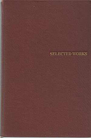 Karl Marx And Frederick Engels Selected Works,: Marx, Karl and