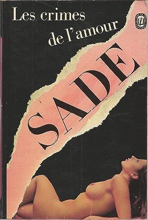 Les Crimes De L Amour (ldp Classiques): Sade, Marquis de
