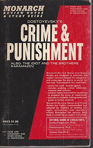Crime & Punishment Review Notes & Study Guide