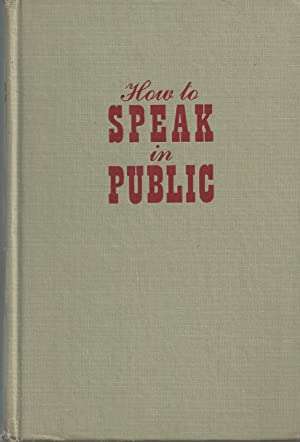 How To Speak in Public