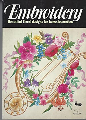 Embroidery Beautiful Floral Designs for Home Decorations