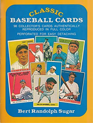 Classic Baseball Cards 98 Collector's Cards Authentically Reproduced in Full Color