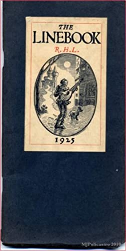 The Linebook 1925: R.H.L. Little, Richard Henry