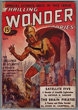 thrilling wonder stories magazine - AbeBooks
