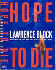 HOPE TO DIE (SIGNED): Block, Lawrence