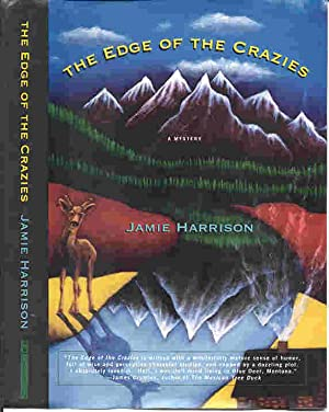 THE EDGE OF THE CRAZIES (SIGNED): Harrison, Jamie