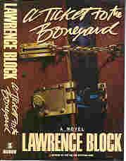 A TICKET TO THE BONEYARD (SIGNED): Block, Lawrence