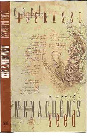 MENACHEM'S SEED: A Novel (SIGNED): Djerassi, Carl